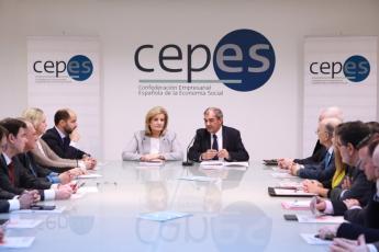 Fátima Báñez presenta en CEPES la Estrategia Española de Economía Social