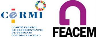 Logos de CERMI y FEACEM